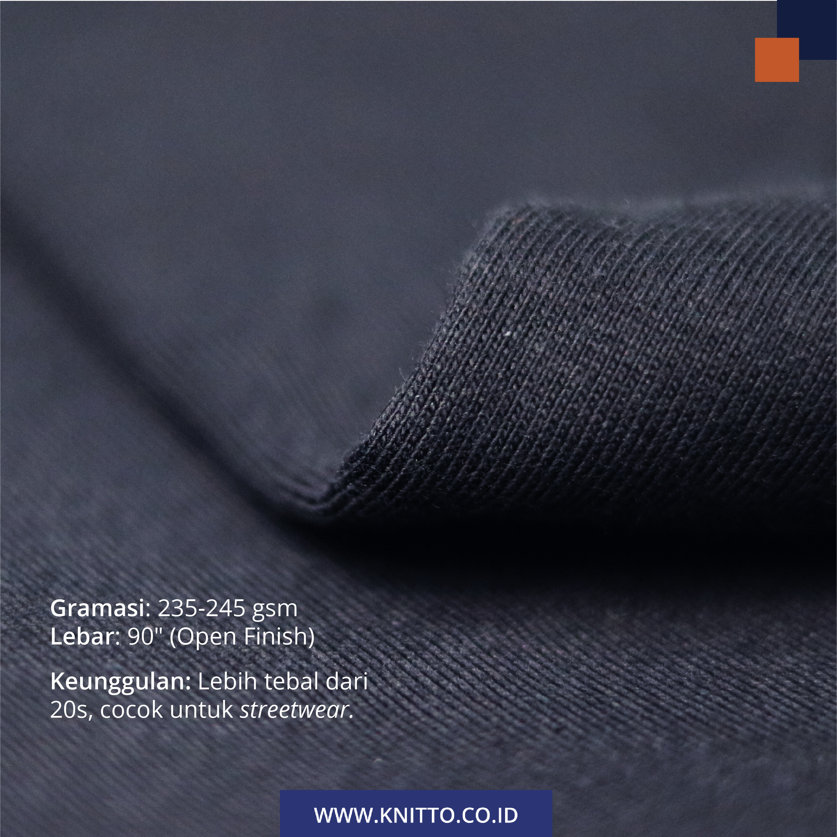 bahan cotton combed 16s